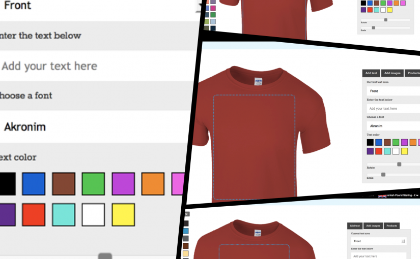 Gateway3D – product personlization layouts